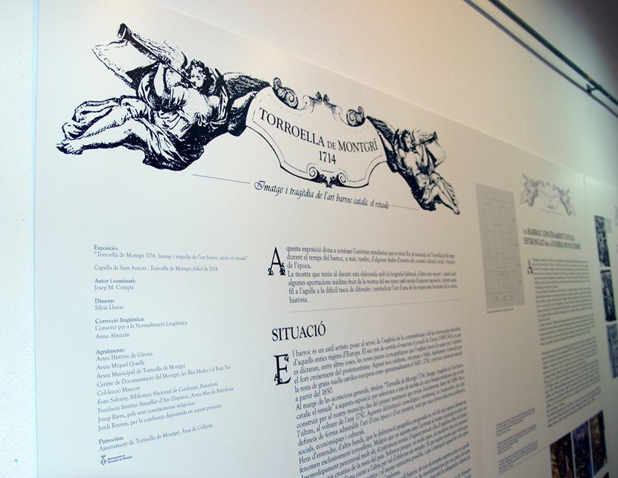 Comunicació gràfica - Disseny d'exposició