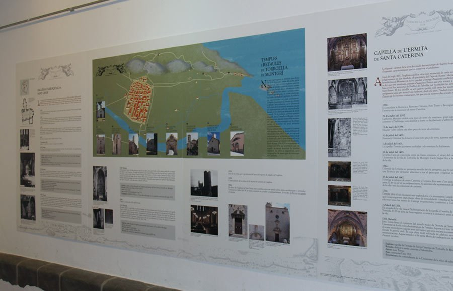 Comunicació gràfica - Disseny d'exposició - Disseny de mapa